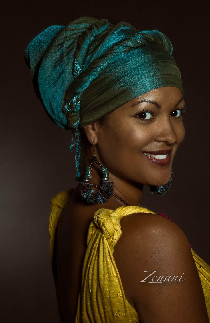 african portrait africa studio beauty smile colours zenani dk