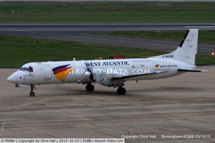 G-MANH, 1989 British Aerospace ATP C/N 2017, West Atlantic Airlines - by Chris Hall