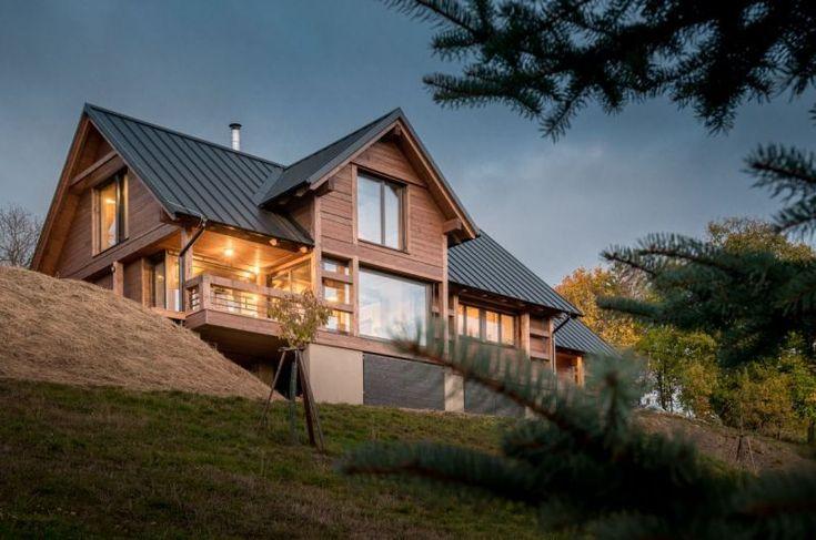 Chalet nad údolím | Dřevostavby, časopis o bydlení - DřevoStavby