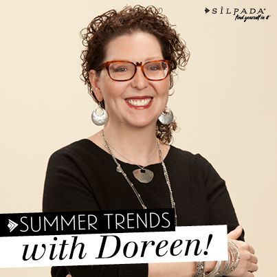 Get to know our VP of Product Development and Design as she highlights this summer's hottest trends! #WomensFashion #SilpadaSilpada, Hottest Trends, Summer Hottest, Silver, Spring Summe 2014, Design Jewelry, Aaa Pin, Design Sterling, Summer Trends