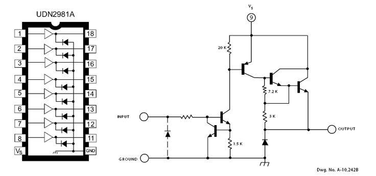 transistor array