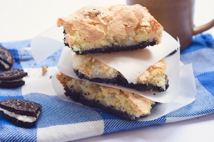 Oreo meringue bars – SINNER SUNDAY | Chickslovefood.com | Bloglovin'