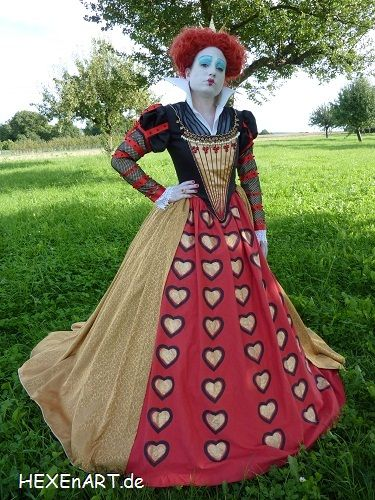 25 best cosplay costumes images on pinterest cosplay costumes red queen costume alice in wonderland red queen kostm herzknigin solutioingenieria Choice Image