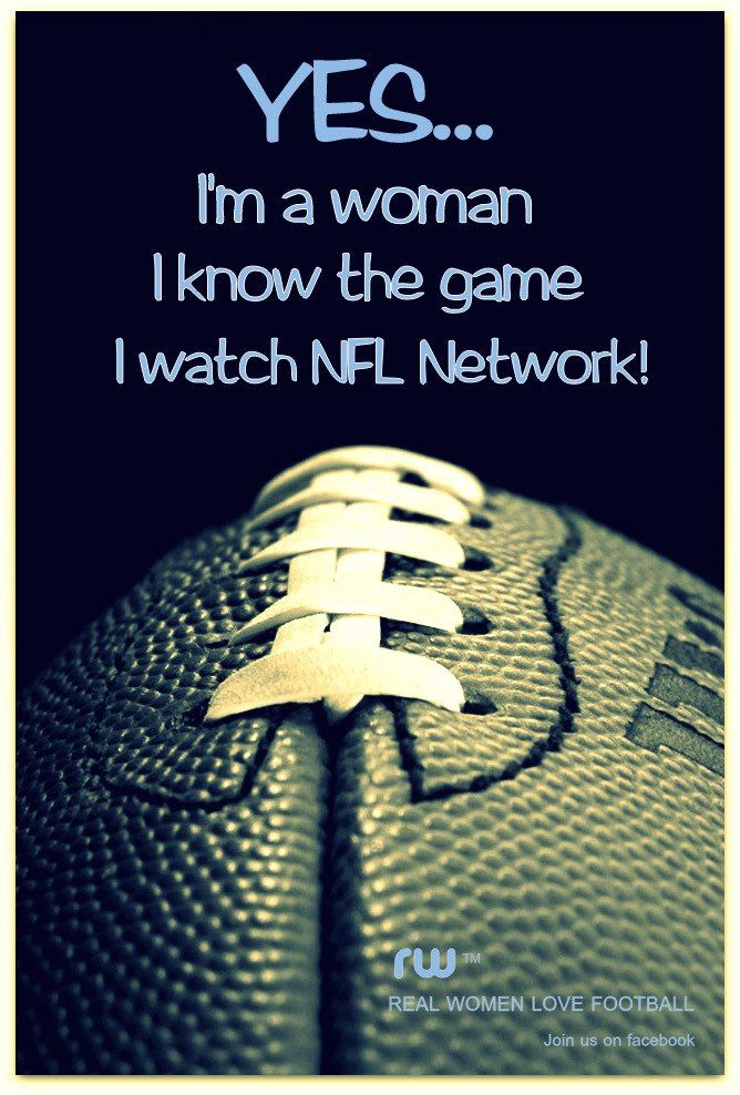 Yup, sad but true, sometimes it will be an hour before i realize that all I am watching is the NFL channel...