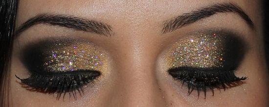 tutorial maquiagem para festas com sombra dourada   Dicas de Maquiagem com Glau Arruda
