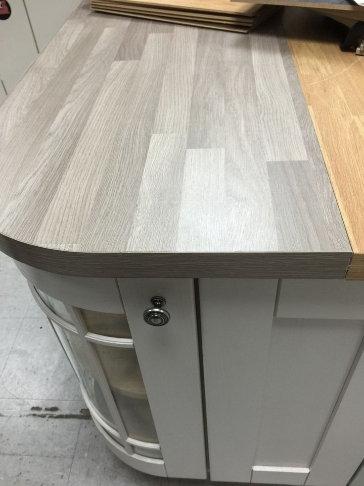 Grey Wood Kitchen Worktop