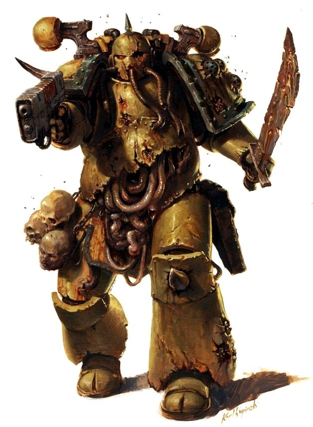 Plague Marines - Warhammer 40K Wiki - Space Marines, Chaos, planets, and more