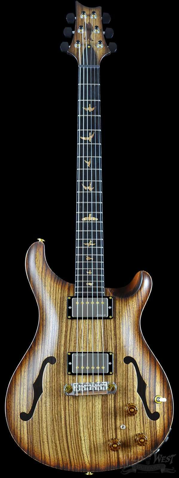 PRS Paul Reed Smith Private Stock #5681 Hollowbody II Zebrawood