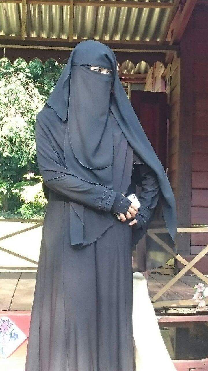 A collection of niqab pictures