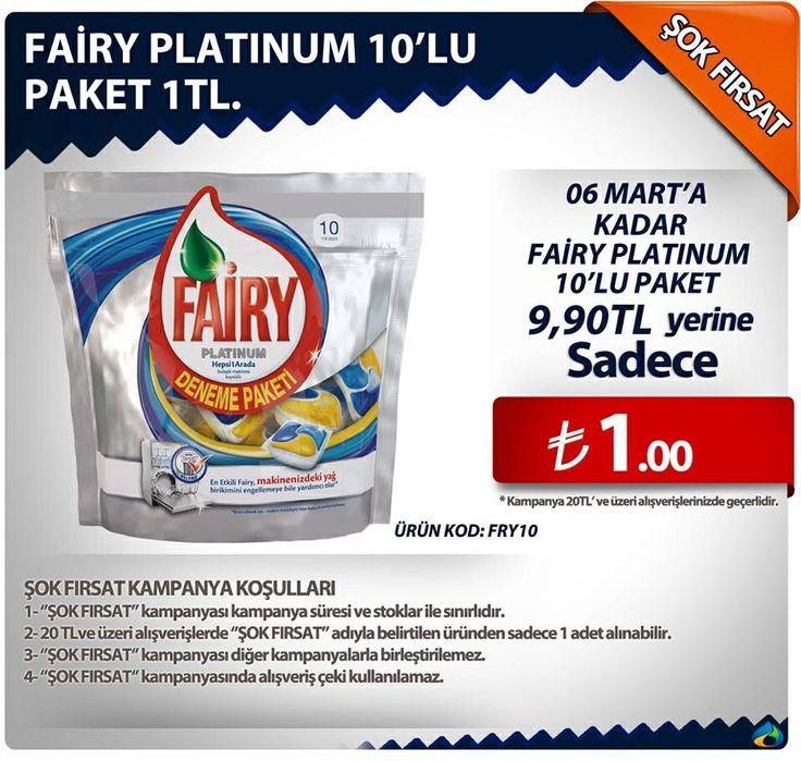 Şok Fırsat Kampanyaları/Fırsat ~1₺ http://www.alisverisbulutu.com/fairy-platinum-bulasik-makinesi-kapsulu-10-yikama.html