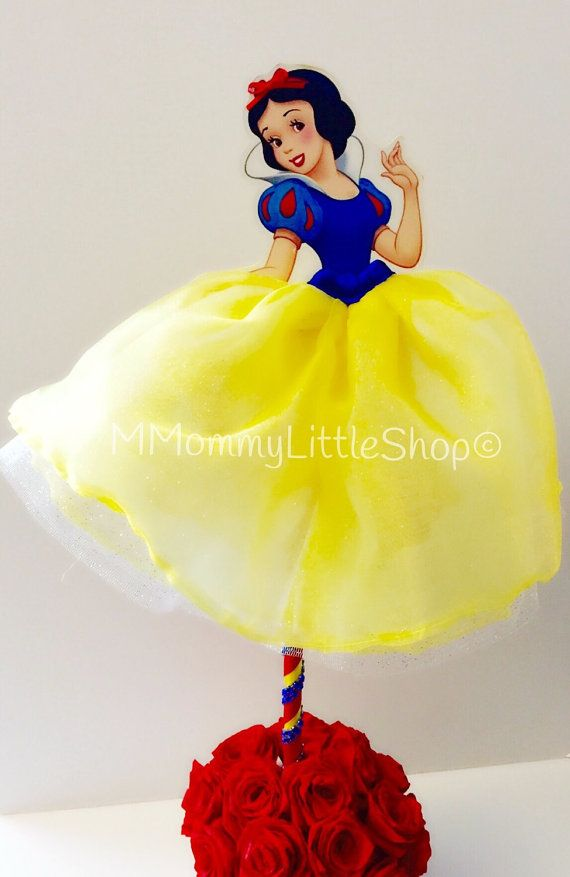 Snow White Inspired Tutu-Dress Handcrafted by MMommyLittleShop