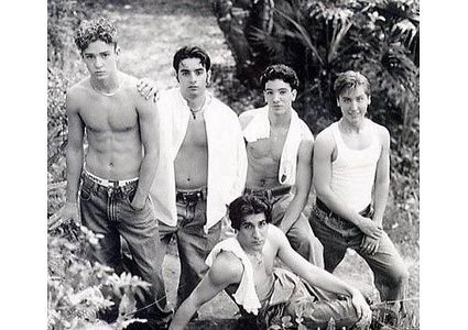 Pictures of 90s Boy Bands. Ahahahaha