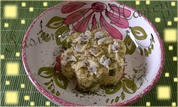 Risotto Vongole e Zucchine, un primo piatto tutto da gustare.