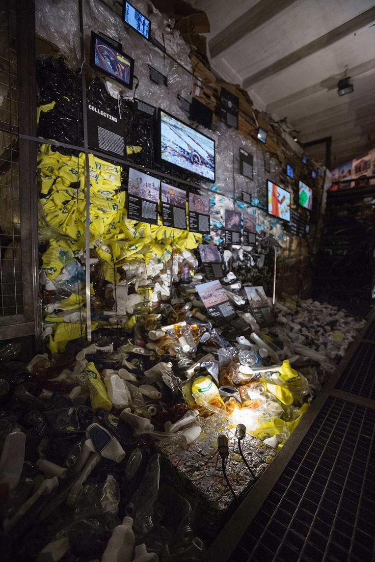 Clivo by i-LèD collection  - Let's talk about garbage  #Biennale #Arsenale #Venice #Architecture