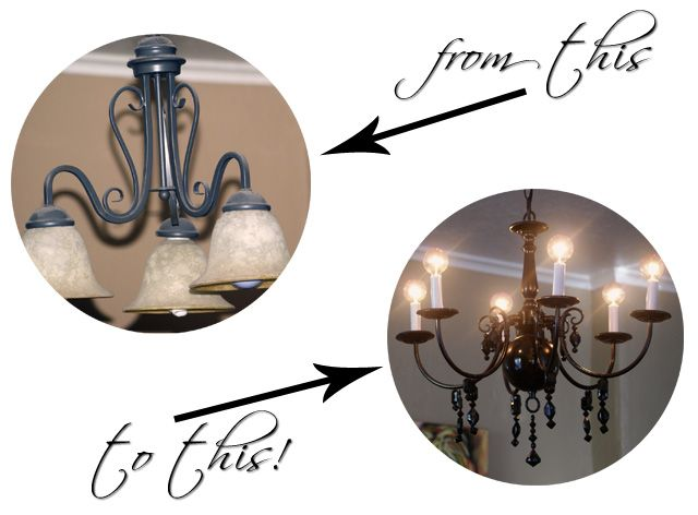 17 Best Ideas About Light Fixture Makeover On Pinterest: 17 Best Images About Light Fixture Makeovers On Pinterest