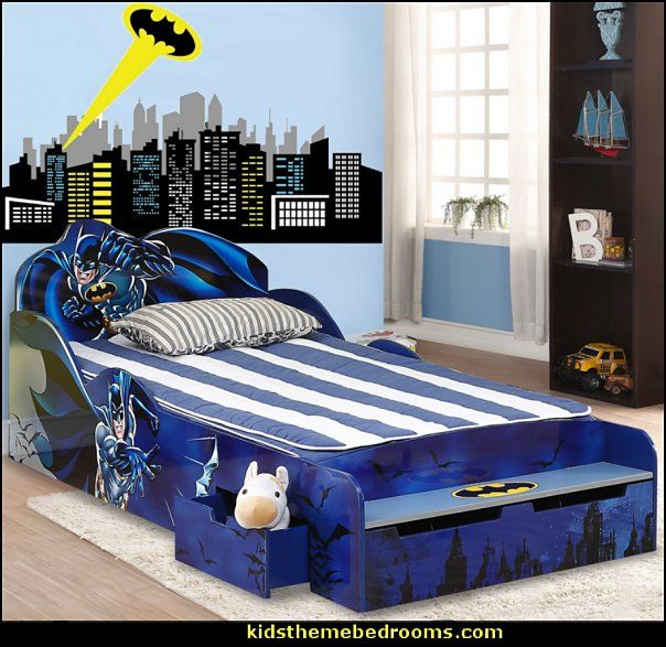 Best Superman Bed Ideas On Pinterest Superman Room Batman - Batman dark knight bedding