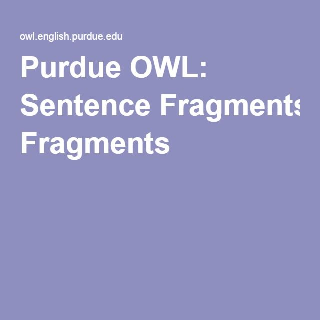 17 best ideas about Sentence Fragments on Pinterest | Incomplete ...