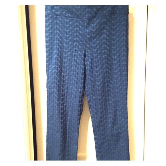 EUC Margaret M Emers Slimming Pant - Size M Worn two times and in perfect condition are this pair of Margaret M Teal pants that are all the rage in Stitch Fix world. They are a great pant but I've realized they are too short for my taste and I just can't seem to find the right shoes. The color is gorgeous too!! Margaret M Pants Ankle & Cropped
