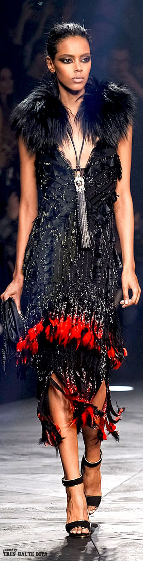 Milan Fashion Week Roberto #Cavalli Fall/Winter 2014 RTW