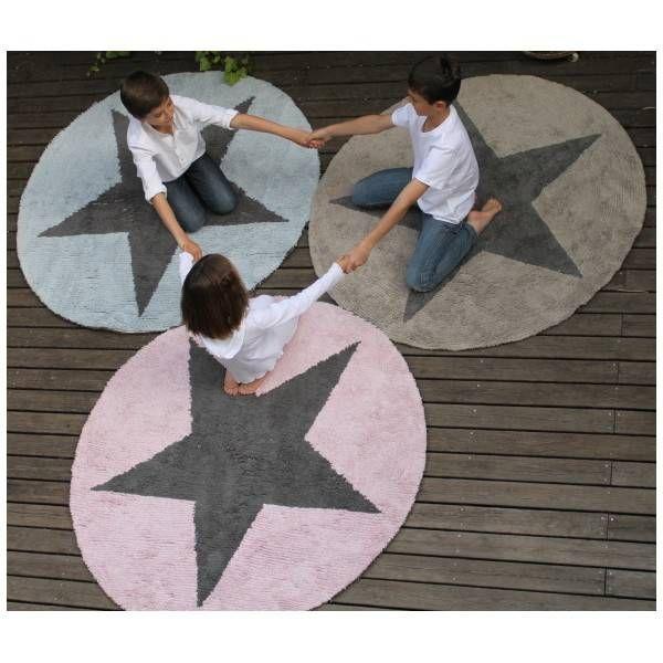 Lorena Canals Rond ster vloerkleed - 3 kleuren