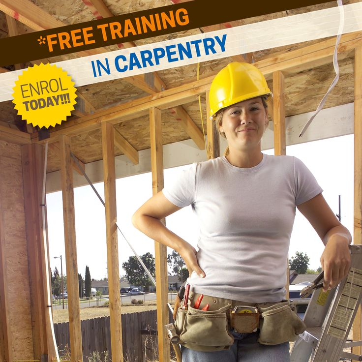 FEE-FREE* Start a career in carpentry With our FREE* Pre-Apprenticeship training:  - Carpentry (Pre-apprenticeship), Nirimba, 01/02/2016. Enrol today to secure your spot,  Call 131 870 or Visit: http://bit.ly/1Qu7GDs #tafewsi #carpentry #FREE RTO:90000 * fully government subsidised training, eligibility criteria applies.