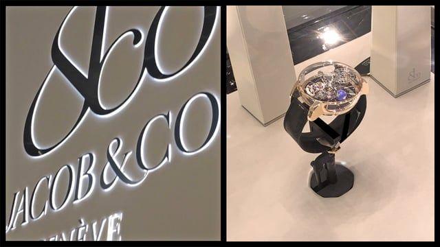 Jacob & Co at Baselworld 2016 featuring the dual-axis motors. Jacob and Co fait tourner les têtes.  Un produit exceptionnel présenté sous toutes ses facettes grâce aux moteurs 2 axes à Baselworld 2016.