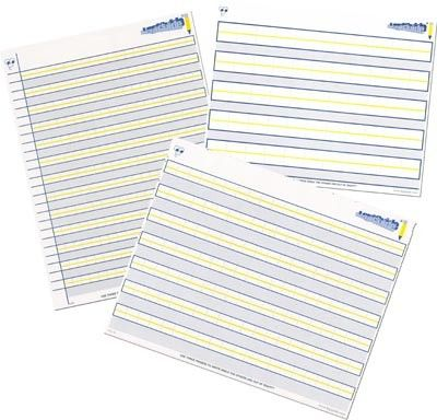 40 best Adapted Paper images on Pinterest Handwriting without - college ruled paper template