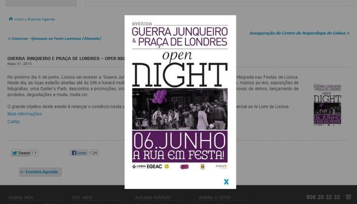 Histórias da Sandra Fotos: Open Night Na Guerra Junqueiro e Praça de Londres - 06.06.2013http://historiasdasandrafotos.blogspot.pt/2013/06/open-night-na-guerra-junqueiro-e-praca.html