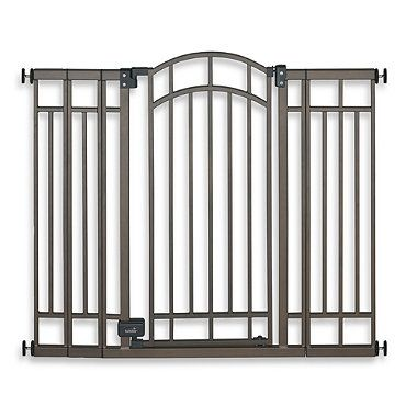 Buy Summer Infant® Stylish & Secure Extra Tall Decorative Bronze Walk-Through Gate from Bed Bath & Beyond $80