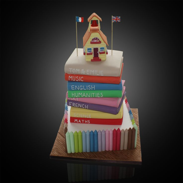 school house cakes - Google Search