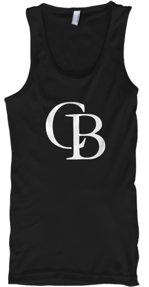 Cb Chuleta Brothers Podcast Radio Tee Black T-Shirt Front