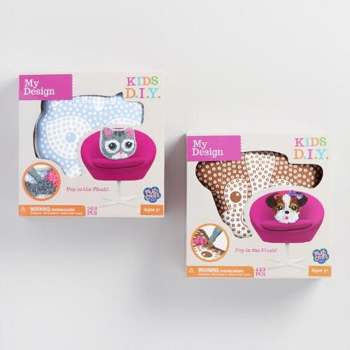 Plush Craft Animal Friends Pillow Kit : 28 best Plush craft fabric by number images on Pinterest Plush, The orb and Factories