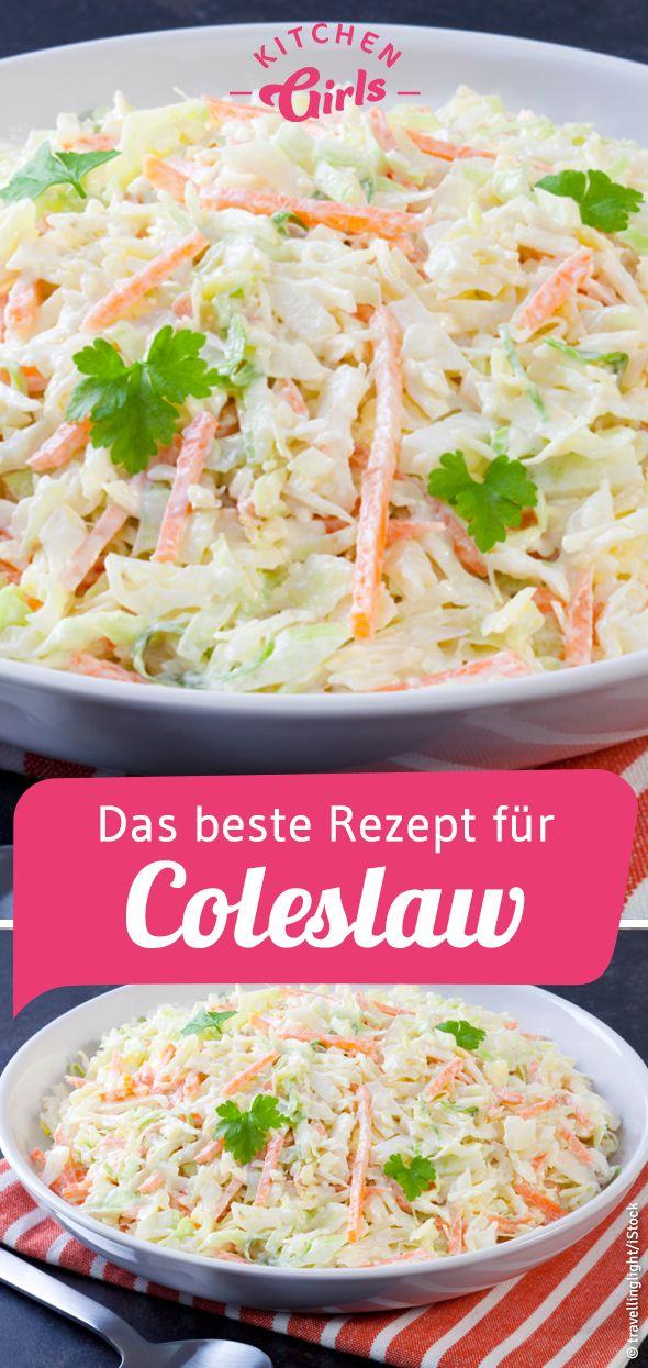 Rezept für Coleslaw wie bei KFC: kitchengirls.de/…
