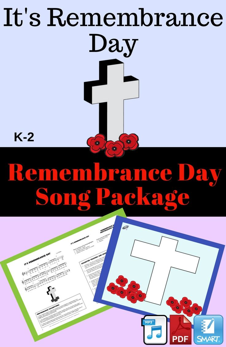This is a lovely song for both classroom and performance purposes. Children will learn about the importance of Remembrance Day and why we wear a poppy to mark this special occasion. This package includes two recordings, a SMART Notebook file and a PDF with sheet music, performance suggestions and lesson ideas.