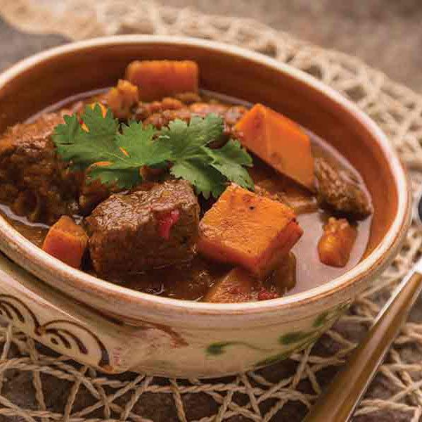 Take your beef stew to the next level by making this spicy-sweet Moroccan Beef Tagine.