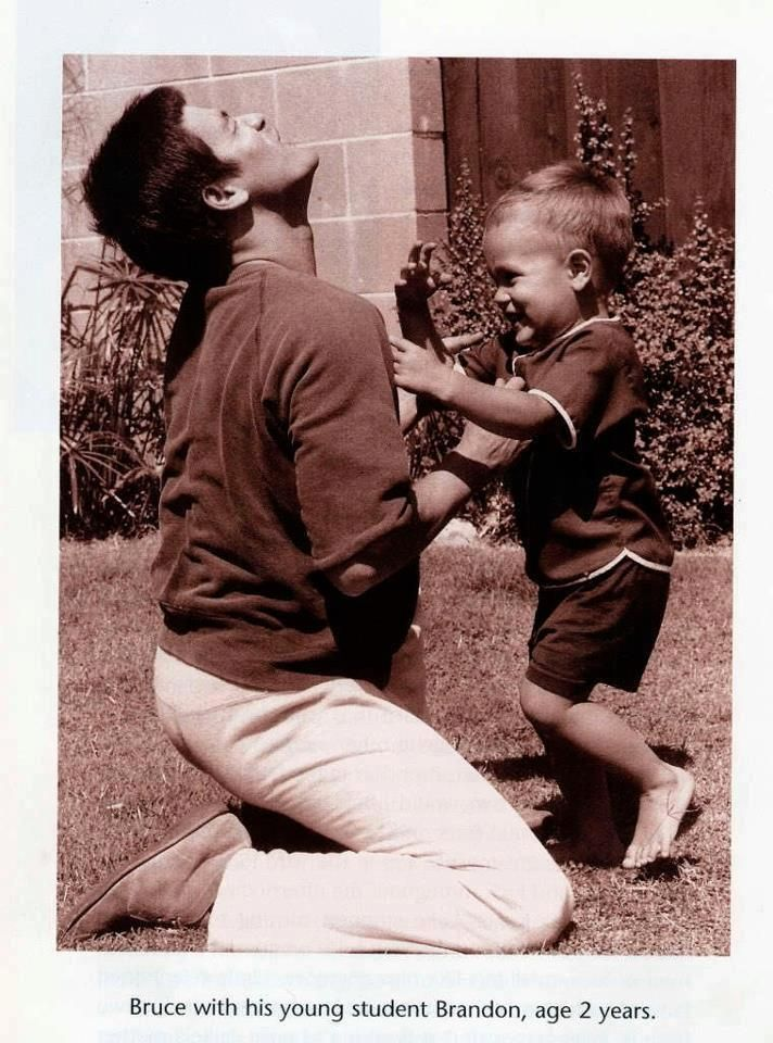 Bruce Lee and Son Brandon Lee..i will always love you..