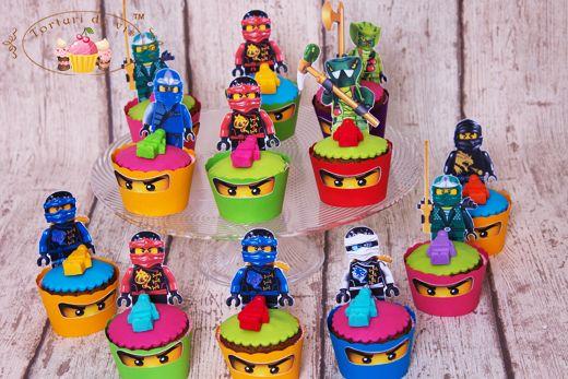 Cupcakes tematice Lego