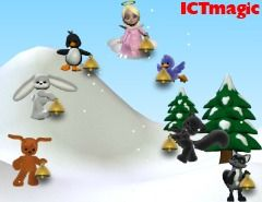 Play Christmas music with Virtual bells with this nice little musical site.