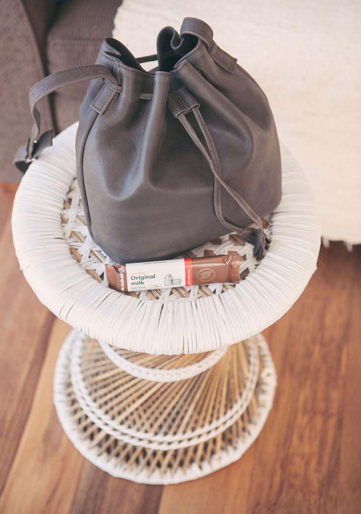 Trade Aid - fair trade - super soft leather bag