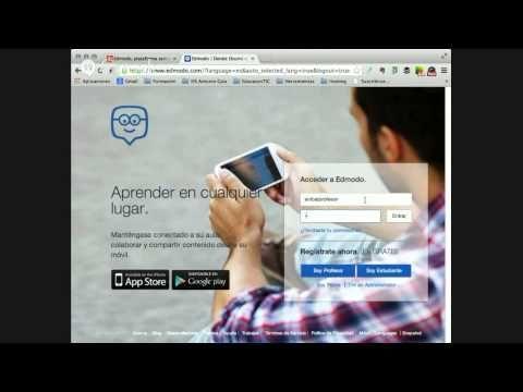 Tutorial de Edmodo (Español) - YouTube Edmodo es una plataforma social educativa gratuita que permite la comunicación entre los alumnos y los profesores en un entorno cerrado y privado a modo ...