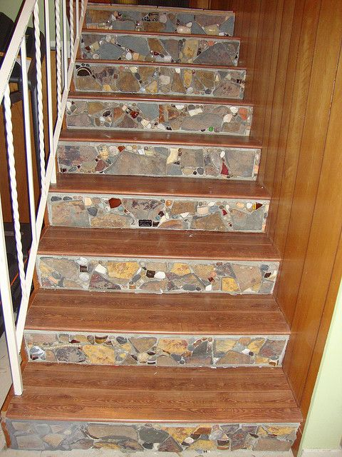 17 Best Images About Stair Riser Ideas On Pinterest The