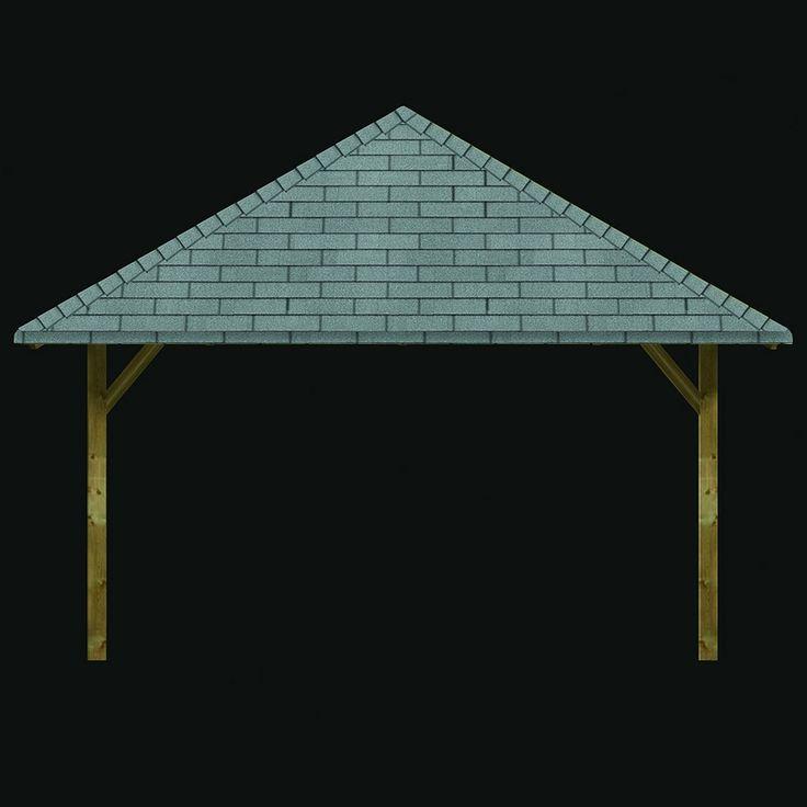 17 best ideas about carport bois on pinterest carport en. Black Bedroom Furniture Sets. Home Design Ideas