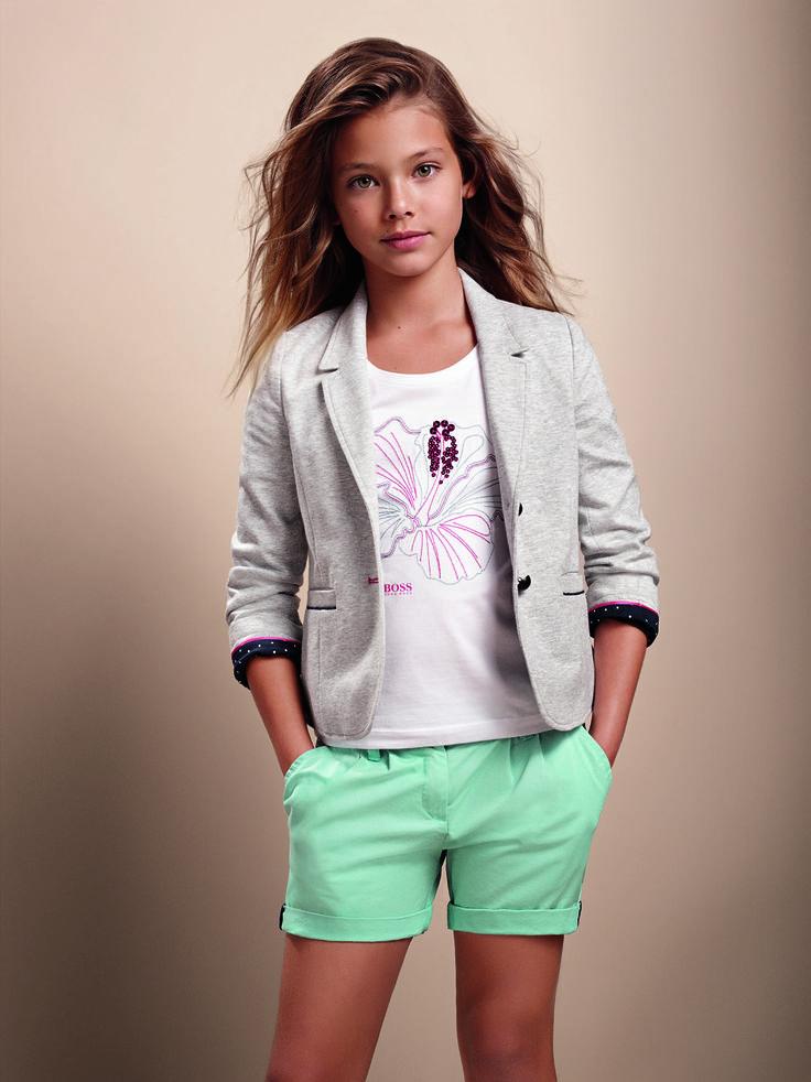 Hugo Boss kids fashion, summer collection PV 15 > Minimoda.es