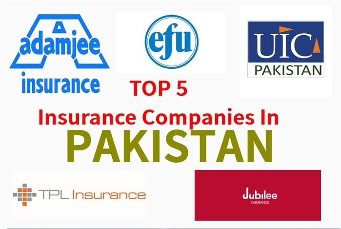 Top Insurance Companies In Pakistan Types Of Insurances Travel