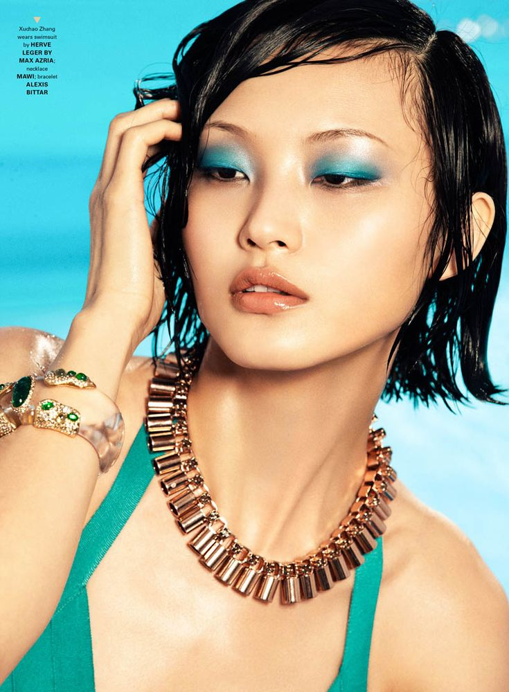 Xuchao Zhang by Zhang Jingna in Summer Glow for FGR