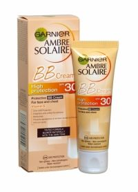 Ambre Solaire Protective Bb Cream For Face 50ml Spf 30 BB (Blemish Balm) Cream sun protection is a tinted formula that illuminates and evens skin tone while still providing advanced UVA-UVB protection. BB Cream sun protection, especially for the face and neck