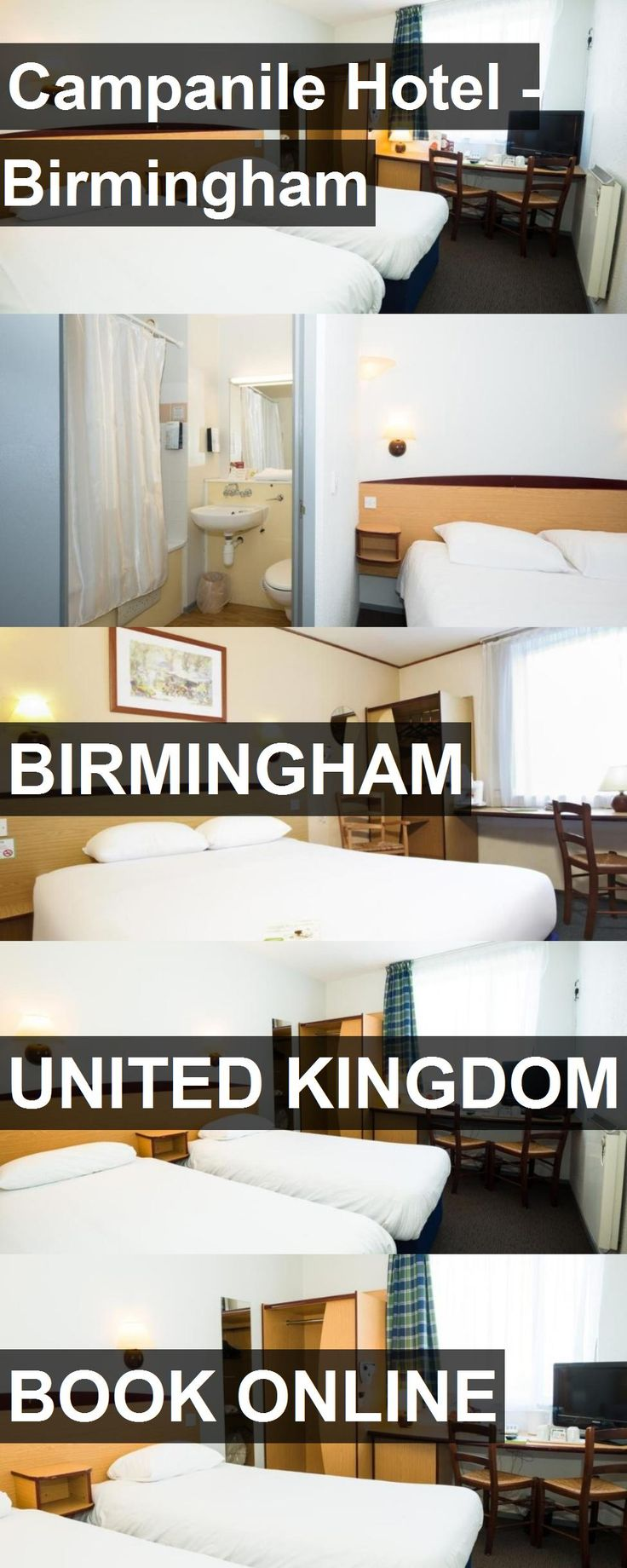 Campanile Hotel - Birmingham in Birmingham, United Kingdom. For more information, photos, reviews and best prices please follow the link. #UnitedKingdom #Birmingham #travel #vacation #hotel
