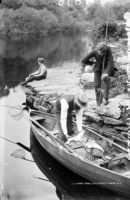 Salmon and Straw Boaters, Killarney~  Flickr - Photo Sharing!