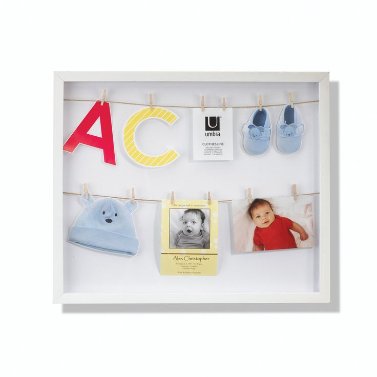 Umbra Clothesline Hanging Photo Display White In 2019