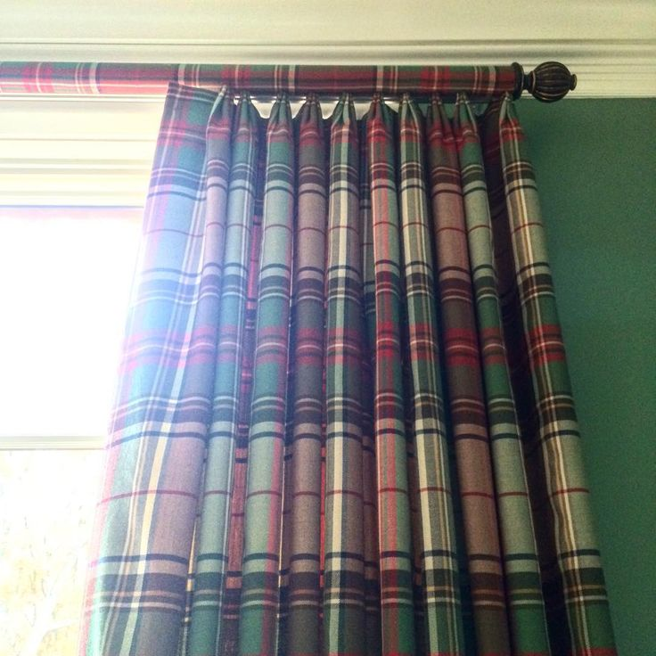 """""""Tartan time"""" Oh, look at that covered rod!! Darcy"""